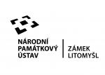 NPÚ, zámek Litomyšl logo ČB křivky-1